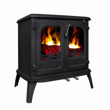 classic cast iron stove/wood burning stove/multi solid fuel stove(JA086)