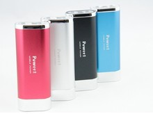 Best hot sell 6400mAh SOS function Aluminium portable power bank with LED Torch