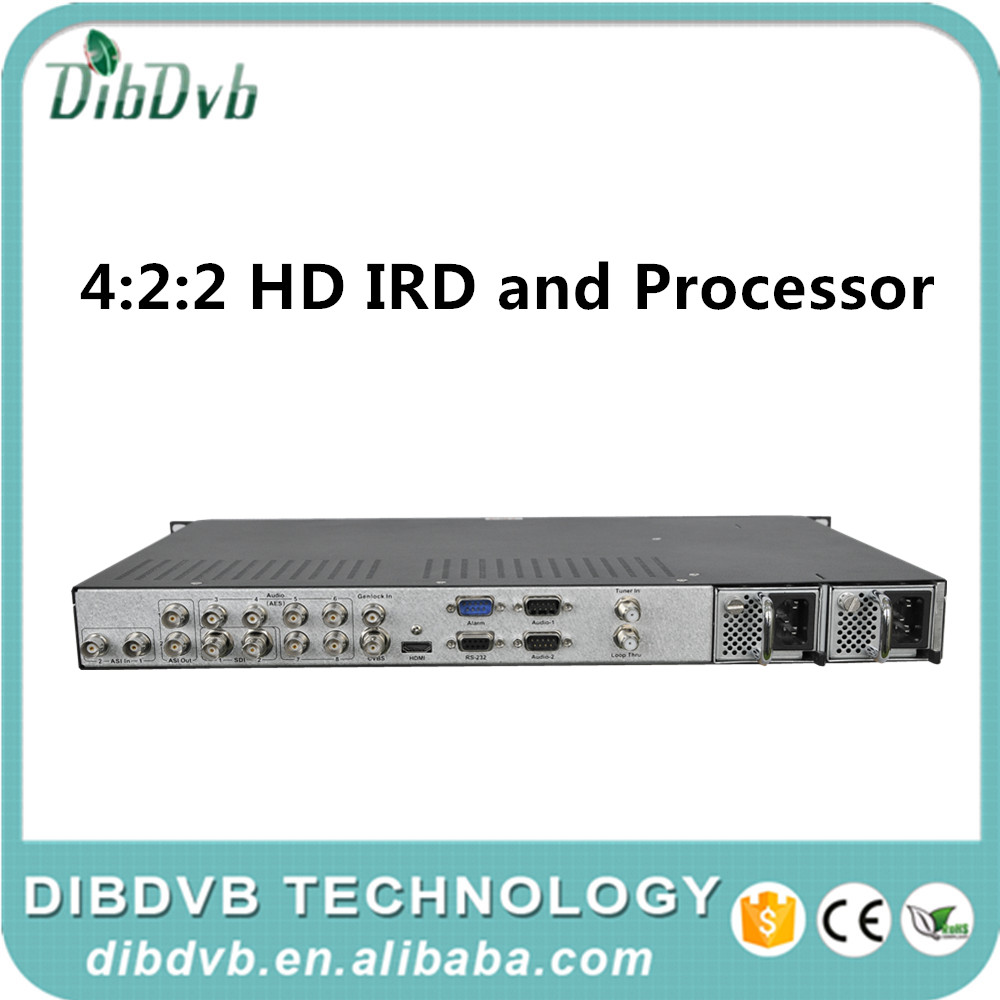 Professional 4:2:2 HD IRD and Processor