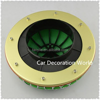 80mm Green Mushroom High Flow Washable Racing Car Air Filters cold air intake