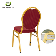 Flash Furniture HERCULES Series Crown Back Stacking Banquet Side Chairs