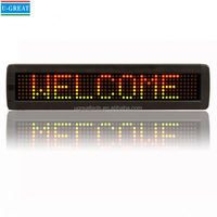 Electronic advertising board 3G WIFI HD hotel led letter led backlit signs