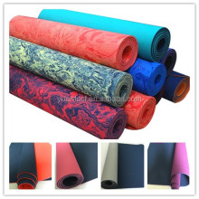 High elastic high quality rubber eco friendly yoga mats exercise TPE yoga mats