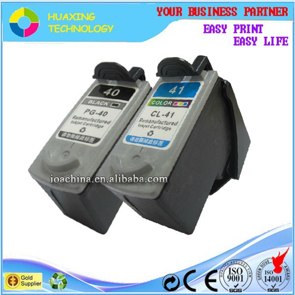 high quality pg-40 cl-41 ink cartridges for canon pixma ip1880