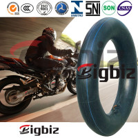 Motorcycle natural inner tube, innova motorcycle tyre and inner tube 4.10-18