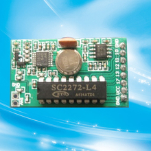 HCS301 rolling code decoder 433.92mhz wireless rf receiver module
