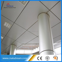 ceiling designs PVDF aluminum composite panel