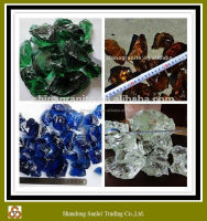 High quality natural broken colored glass for sale