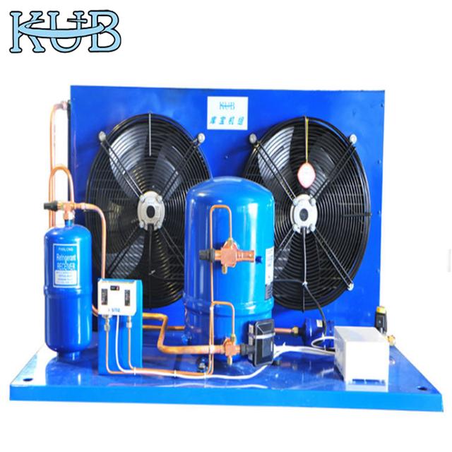 Maneurp hermetic compressor milk cooler tank air cooled condensing unit