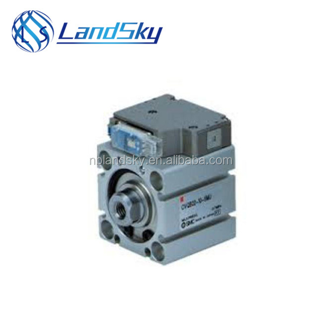 LandSky S MC micro pneumatic cylinder Compact Cylinder with Solenoid Valve/ Guide Rod Type CVQM Series