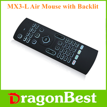 Mini 2.4Ghz Wireless Keyboard remote control with back light MX3 2.4g Air Mouse Remote Controll MX3 Mini Fly Air mouse