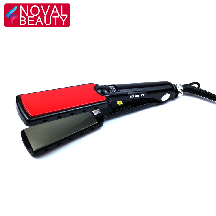 Safe Top Quality Professional Hair Straightener Ceramic / Titanium 11/2 Inch Flat Iron for Salon Hair Styling