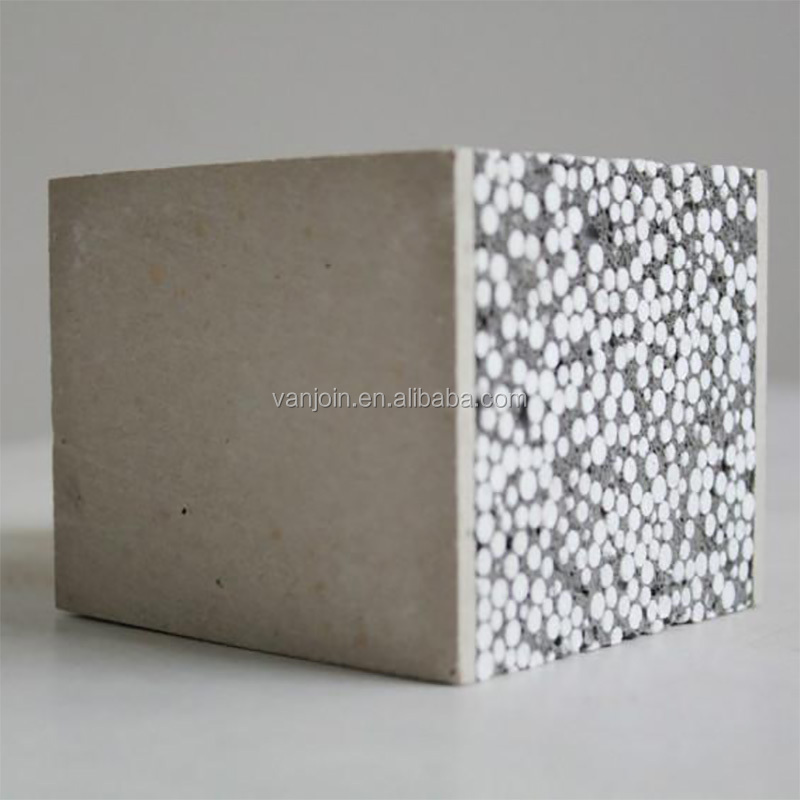Build Speed Light Weight Foam Panel Polystyrene Concrete Panel