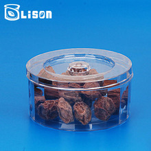 Free Sample New Arrival 150ml Round Shape PS Plastic Box Container For Food Containing