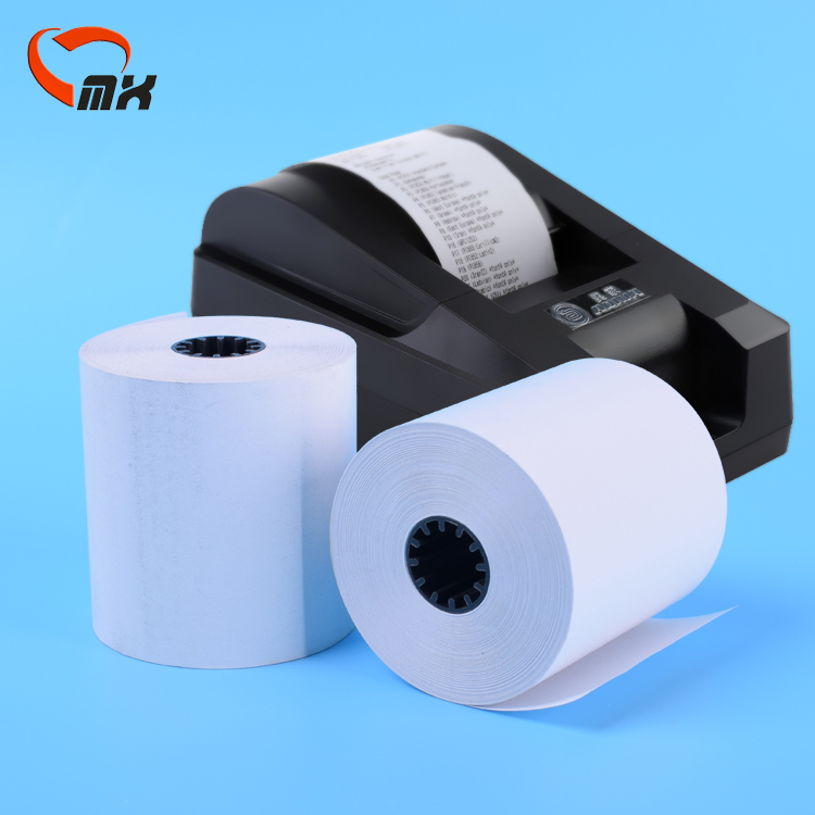 3-1/8 Cash Register Paper 80mm ATM Printing Thermal Paper <strong>Rolls</strong>