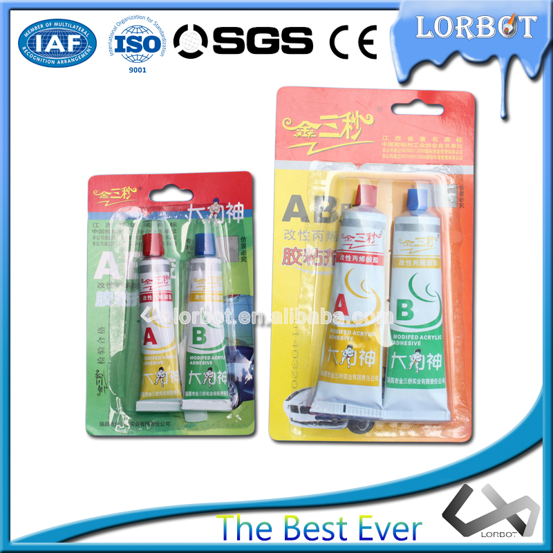 Low Price SGS Certified High Quality Modified Acrylic Adhesive AB Glue Factory Direct!