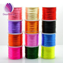 Wholesale Mixed colorful Crystal elastic line/cord/thread/wire for handmade DIY Jewelry