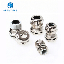 Terminal Flame Proof Water Tight PG Metric Thread Clamped Cable Glands