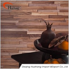 Home Decor Cheap Price Interior 3D Effect Wood Wall Panel