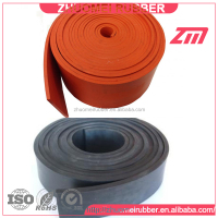 Extruded Orange red Polyurethane Skirting Rubber