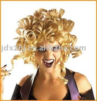halloween wigs/hairpieces