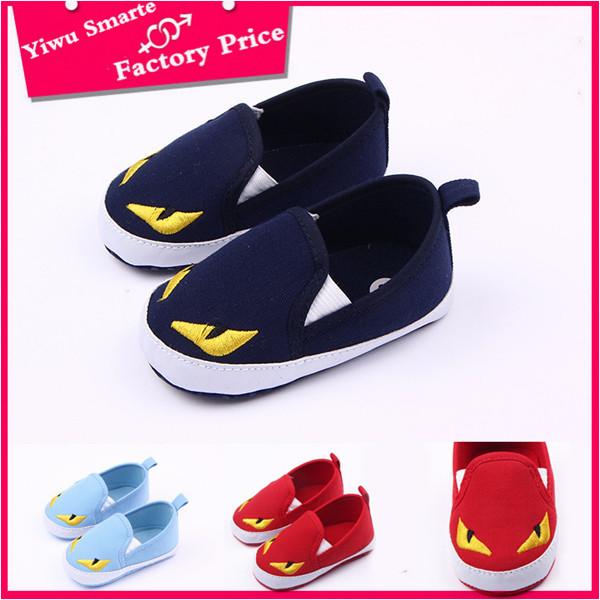 Competive price autumn wear cotton fabric shoes wholesale funny kids boys stylish casual shoes import from china