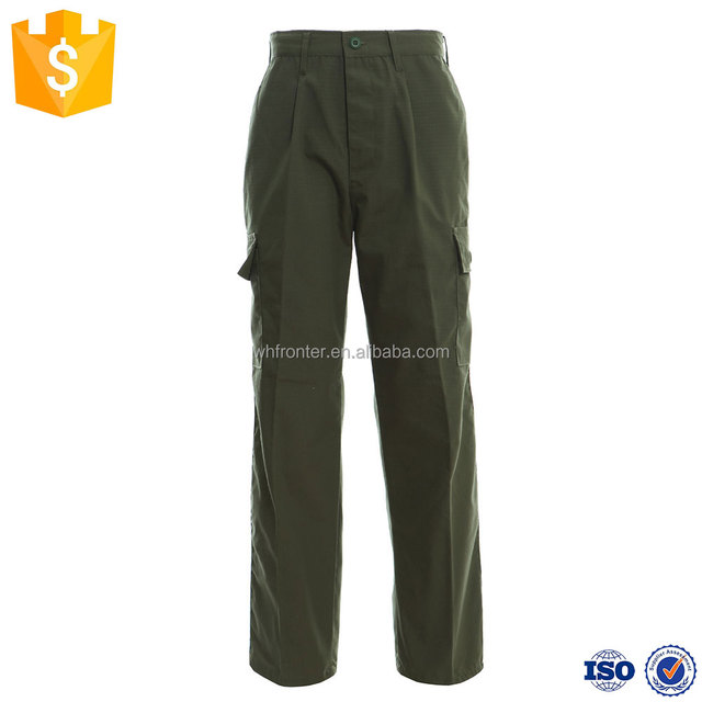 BDU style military camouflage army green work army trousers