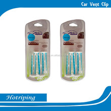 2015 hot sell vent clip car air freshener/ air vent valve car air freshene