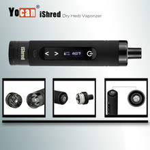 top selling products 2017 Wholesale High-end herbal vaporizer dry herb device vaporizer yocan ishred