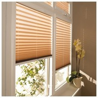 China Cheap Price Lace Pleated Window Blinds/Pleated Curtains