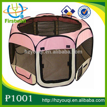 Collapsible Travel Dog Playpen Fabric Light Duty Pet Exercise Pen