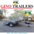 heavy-duty caged tilting trailer with winch tilt and removable cage