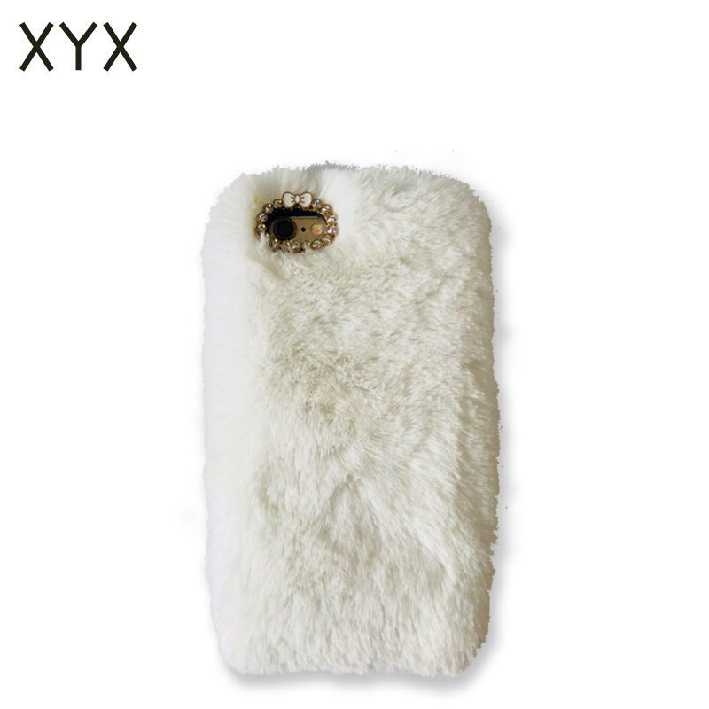 Up-to-date styling soft fluff phone accessories cover case for Iphone 7 plus