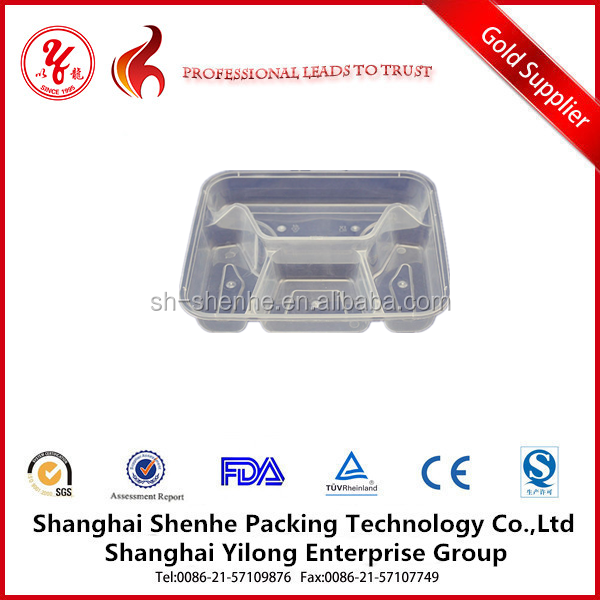 plastic tray with dividers plastic food tray with lid 4 compartment tray
