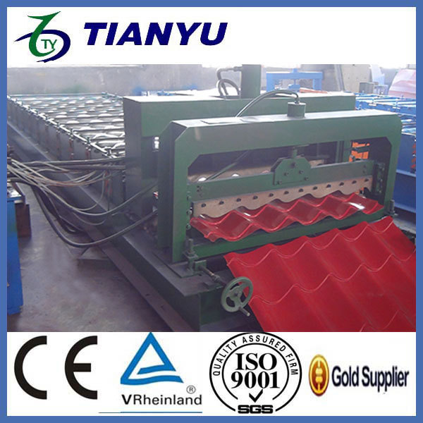 saw machinery glazed tiles colored steel metal roof and wall pan machine