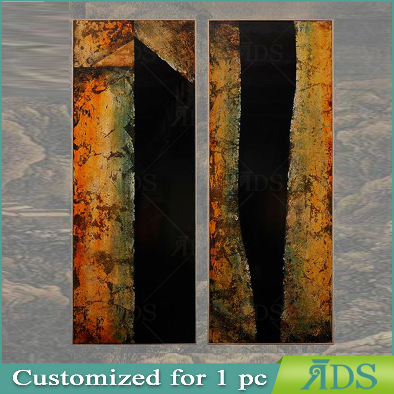 Framed Handmade oil painting abstract wall painting designs
