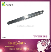ST053 Metal Tweezers/Professional Stainless Steel Wholesale Quality