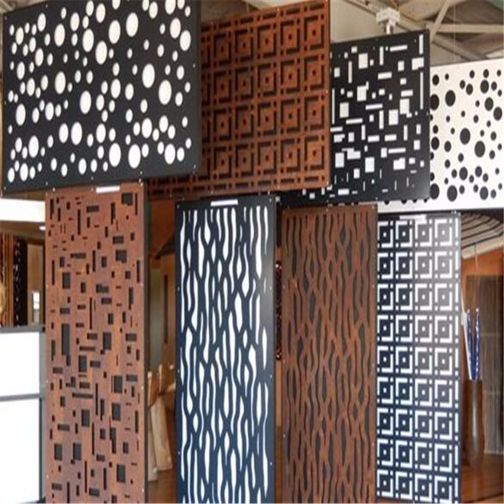 Decorative Laser Cut Metal Screens For Interior Garden