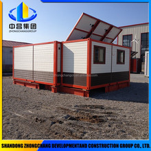 Lightweight modified shipping container house