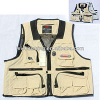 inflatable top quality fishing vest