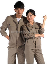 TC Industrial Heavy Duty Color Match Work Jackets Cheap Factory Worker Uniform