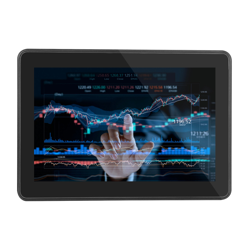 Wireless VESA mounting 10 12 15.6 18.5 19 inch wall mounted touch screen monitor