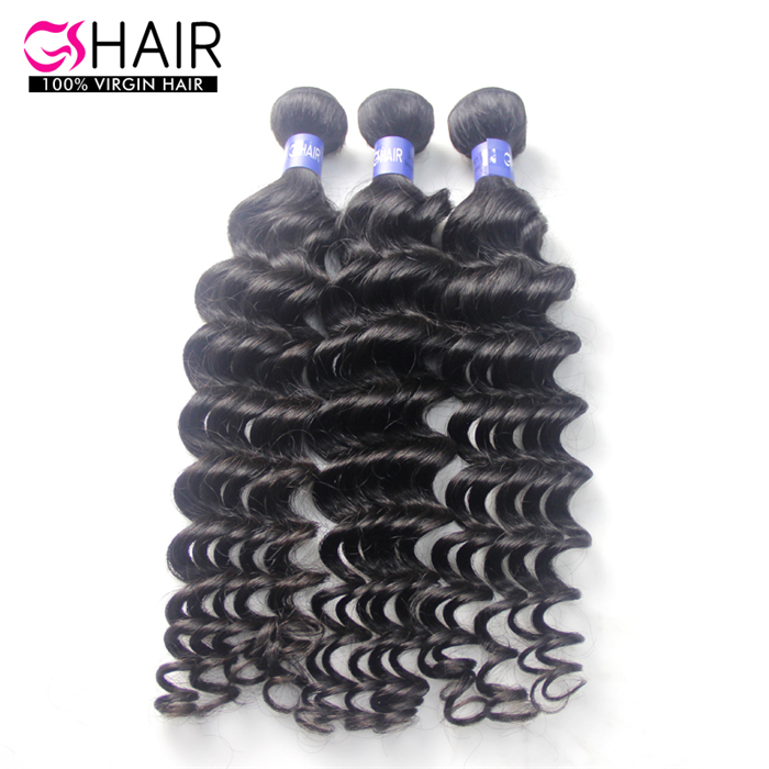 Top quanlity remy hair deep wave premium now human hair extension