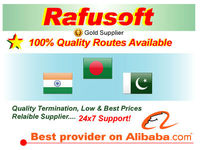 Bangladesh, India, Pakistan VoIP Routes available