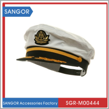 White Captain Hat for Fancy Dress Party