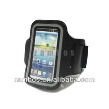 Hot Reflective Sport Armband Pouch Holder Case for Samsung Galaxy S4 Mini i9500
