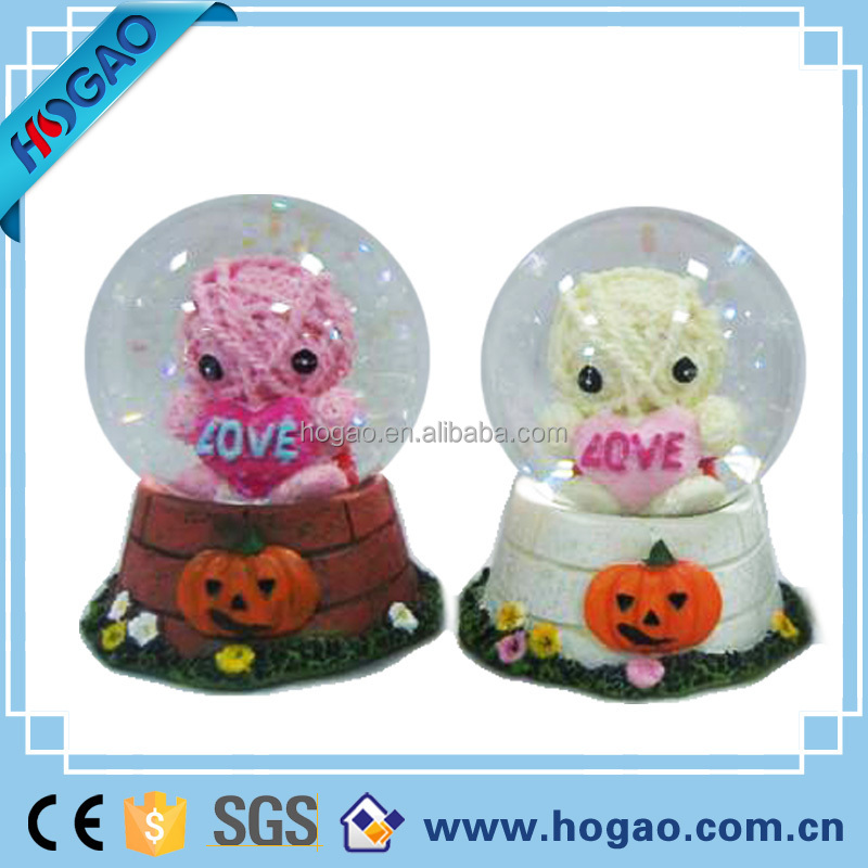 Snow Resin lover Crystal ball Music Box - Gifts for valentine's day