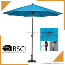 10 feet outdoor umbrella 270 cm coffee bistro parasol 300cm patio umbrella 9 feet marketing umbrella outdoor umbrella