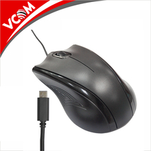 VCOM New Type C Connector 1200DPI Optical USB C Interface Mouse With Custom Logo