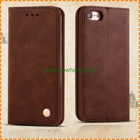 Alibaba wholesale leather mobile phone accessories for iphone 6 plus cover case